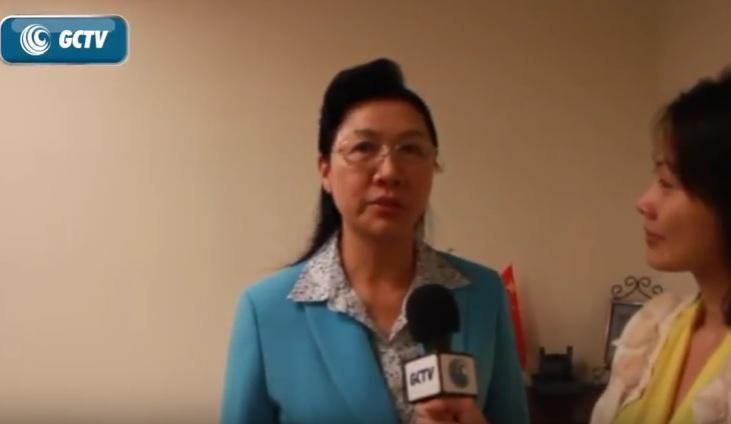深圳市代表团访问纽约国际华人科技工商协会创新中心