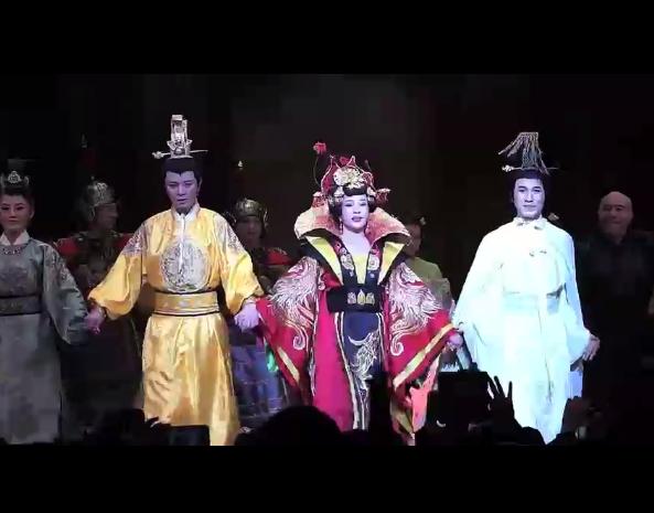 刘晓庆话剧 《武则天》登陆纽约舞台